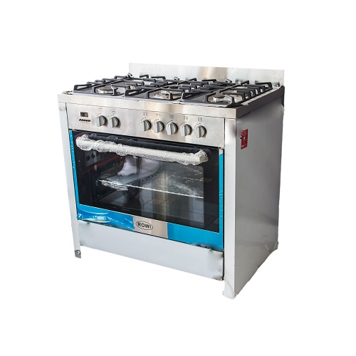 Rowi 5 Burner 9060 Semi Professional Gas Cooker Model no G36D08