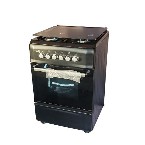 Rowi 4 Burner 5055 Gas Cooker Model no F5S402G2-BLACK